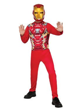 Captain America: Civil War Iron Man Boys Costume