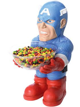 Captain America Figure Candy Bowl Holder