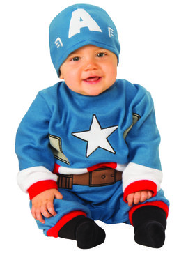 Captain America Infant Romper  sc 1 st  Wholesale Halloween Costumes : baby incredible hulk costume  - Germanpascual.Com