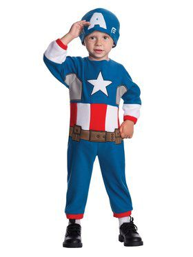 Captain America Toddler Child Costume
