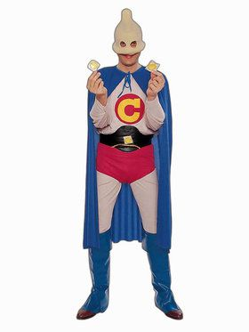 Captain Condom Adult Costume