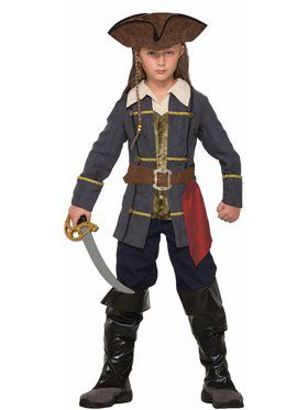 Captain Cutlass Pirate Boy's Costume