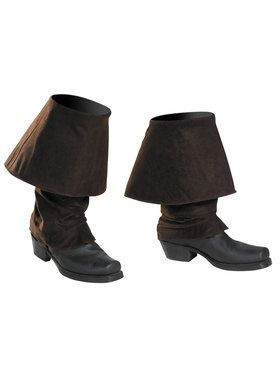 Captain Jack Adult Men's Pirate Boot Covers