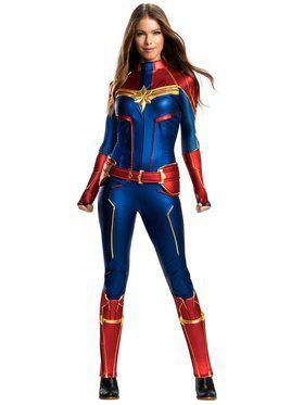 Captain Marvel Grand Heritage Costume for Adults