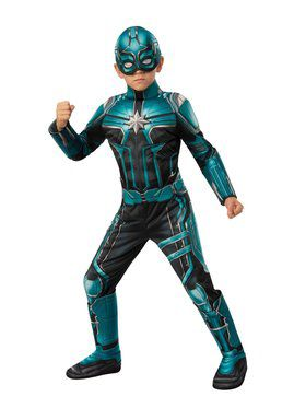 Captain Marvel Deluxe Yon Rogg Costume for Kids