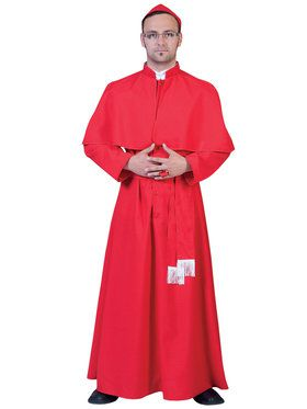 Cardinal Gilberto Men's Costume