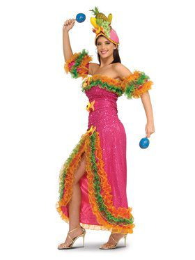 Carmen Miranda Adult Costume for Women