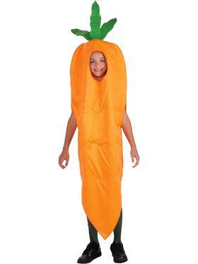 Carrot Boys Costume