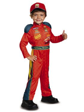 Cars 3 - Lightning McQueen Classic Child Costume