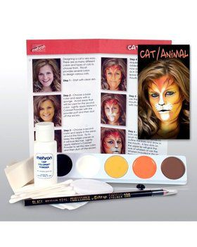 Cat and Animal Character Makeup Kit