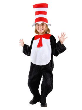 Cat in The Hat Costume Toddler