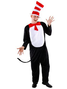 Cat In the Hat Men's Costume