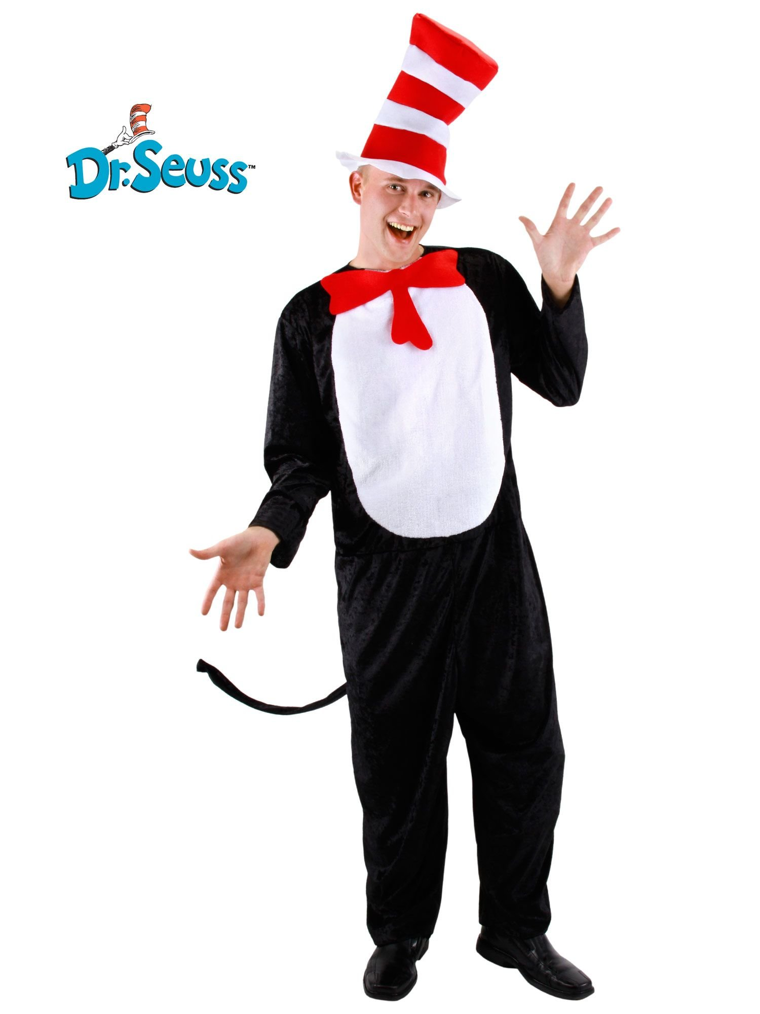 Elope Adult Cat In The Hat Costume
