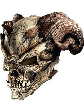 Cave Demon Mask For Adults