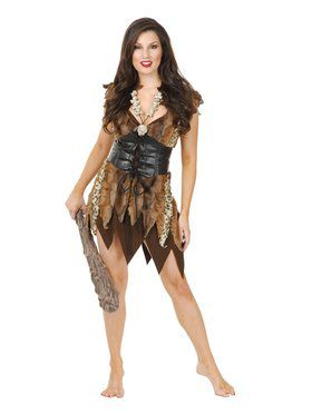 Cavewoman Adult Brown
