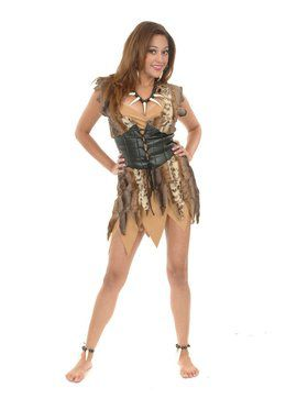 Women's Cavewoman Dress
