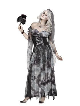 Cemetery Bride Women's Costume