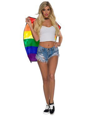Short Certified Pride Reverse Cape