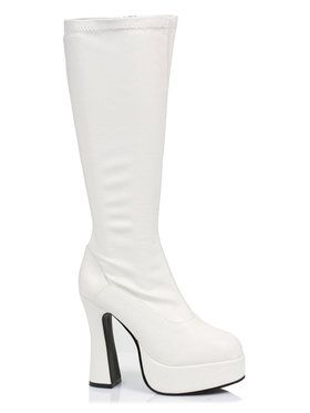 ChaCha (White) Boots For Adults