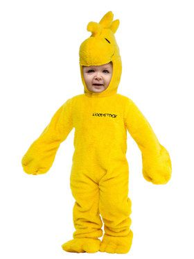 Charlie Brown Toddler Woodstock Costume