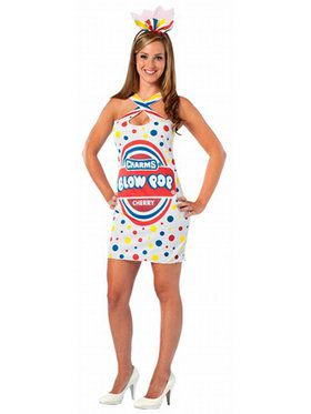 Charms Blow Pop Candy Dress Women's Costume