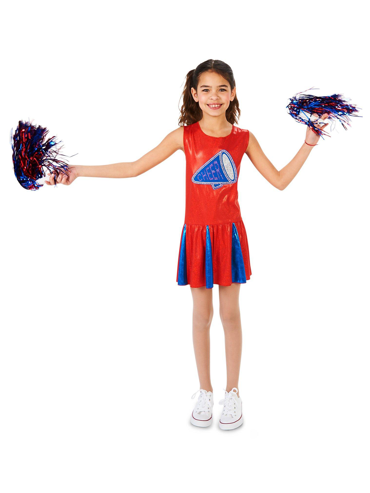 Cheerleader Kids Costume 17195-L