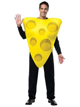 Cheese Tunic Costume For Adults
