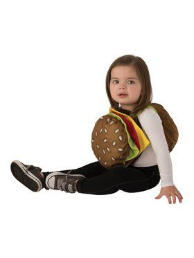 Toddler/Baby Cheeseburger Costume