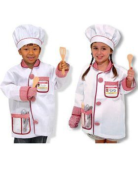 Chef Costume Child
