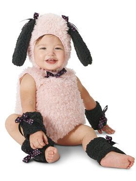 Chic Puppy Costume For Babies