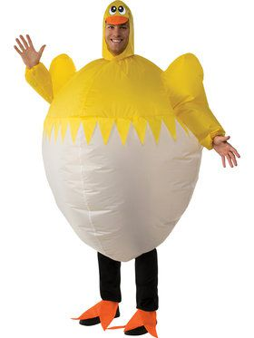 Chick Inflatable Adult Costume