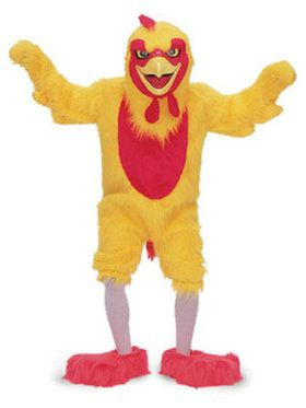 Chicken Mascot Adult's Mascot Costume