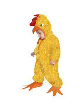 Toddler's Little Chick Costume