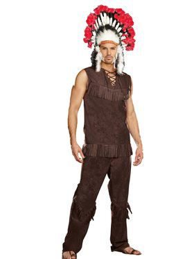 Chief Long Arrow Men's Costume