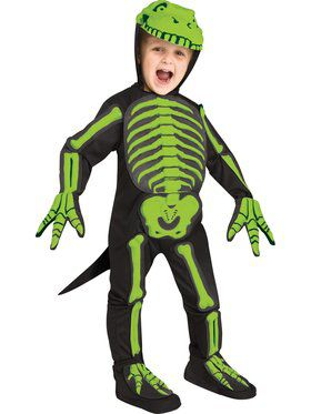 Childs Dinosaur Skeleton Costume
