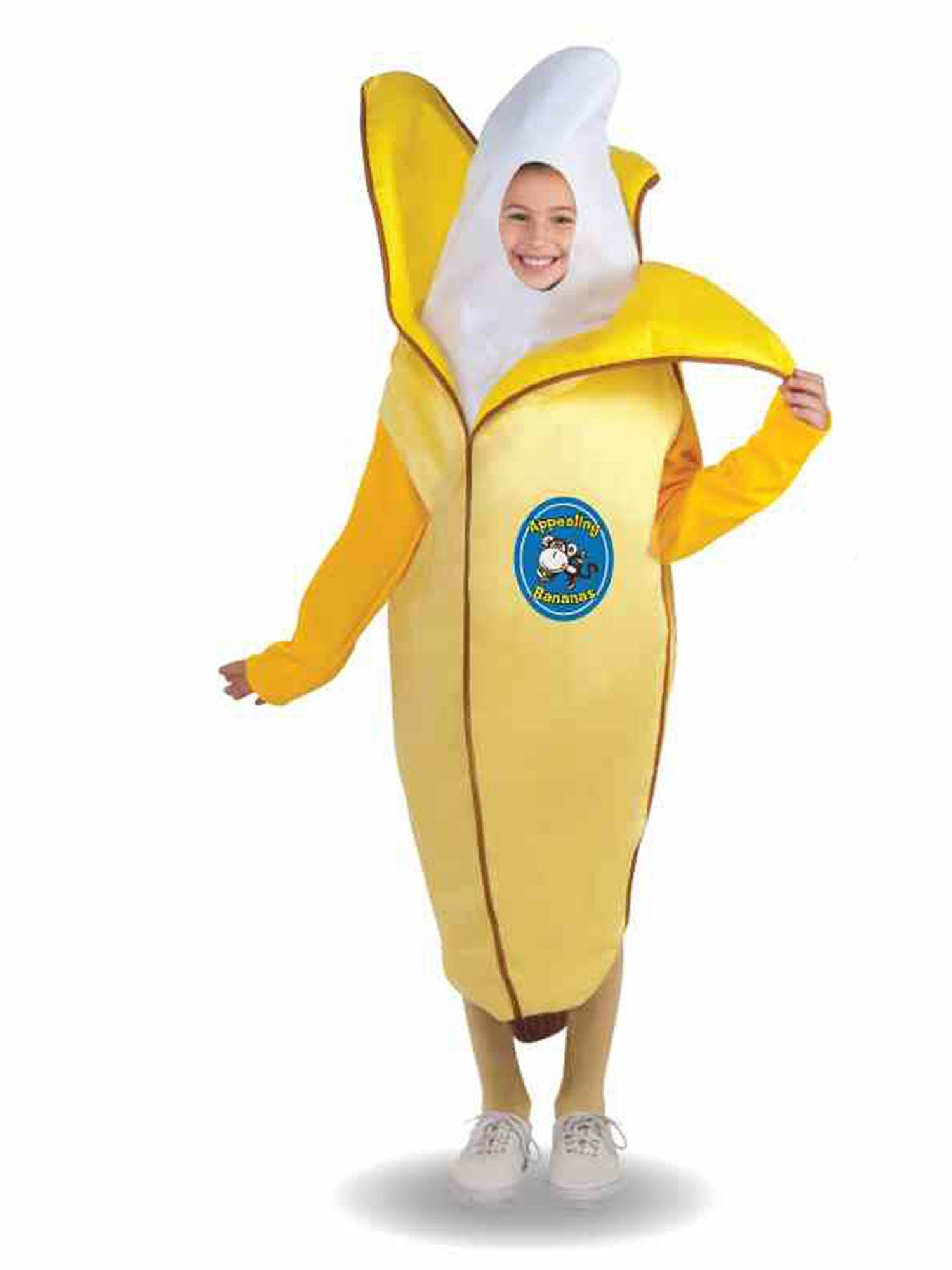 Child Appealing Banana Costume  sc 1 st  Wholesale Halloween Costumes & Appealing Banana Costume - Wholesale Food Girls Costumes