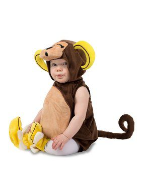 Banana Foot Monkey Child Costume