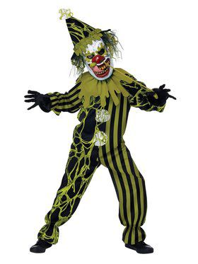 Boogers the Clown Child Costume