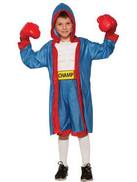 Boy Child Boxer Costume