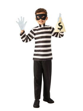 Girls BSE Burglar Costume