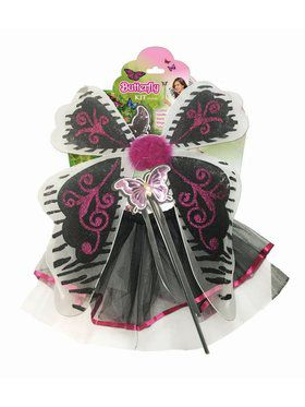 Child Butterfly Costume Kit
