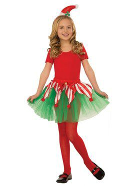 Candy Cane Tutu for Kids