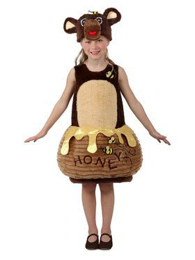 Candy Catchers Bear in the Honey Pot Child Costume