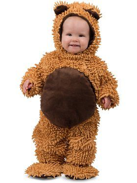 Chenille Teddy Bear Child Costume