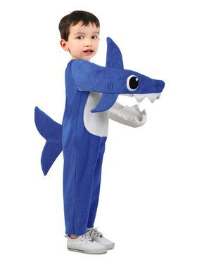 Chompin' Daddy Shark Costume w/ Sound Chip for Child