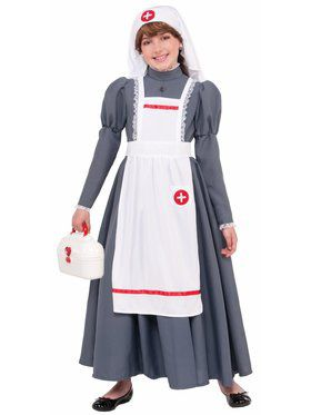 Civil War Nurse Child Costume