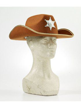 Child Cowboy Hat With Badge Kit