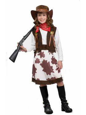 Child Cowgirl Costume