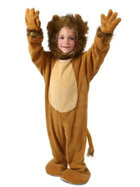 Cuddly Little Lion Costume for Kids