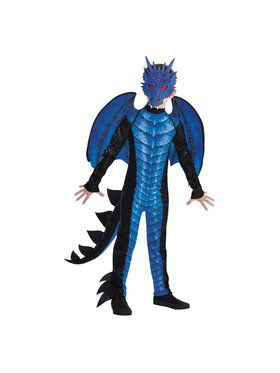 Childs Icy Dragon Costume